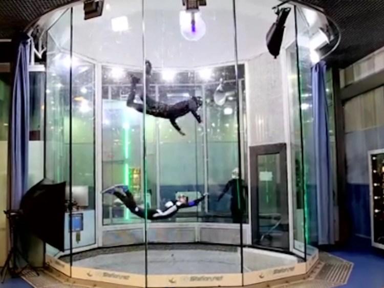 Indoor Skydiven in Saitama