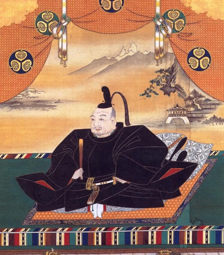 Tokugawa Ieyasu, de eerste Shogun die over Japan regeerde vanuit Edo