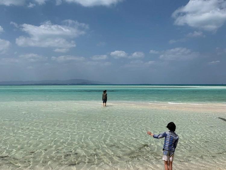 Strandvakantie in Okinawa