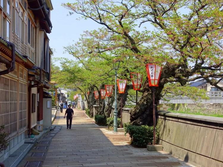 Nagamachi Buke Yashiki samoerai wijk