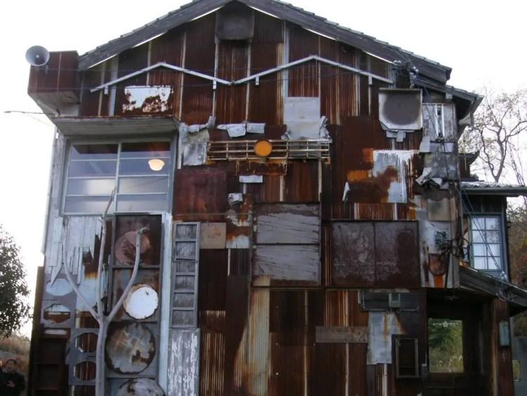 Fietsen in Japan: Art House Project