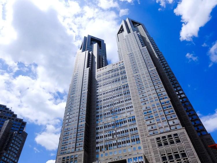 Tokyo Metropolitan Government gebouw