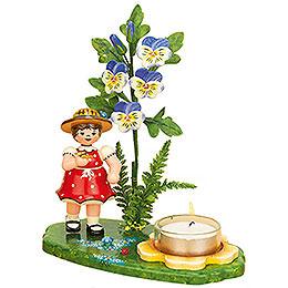 Teelichthalter Blumenkind