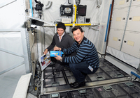 Roman Romanenko and EAC instructor Ian Petersen
