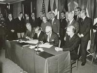 Signature of the Spacelab Memorandum