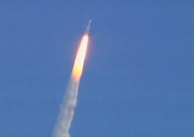 Lançamento dos satélites Planck e Herschel, da ESA, realizado hoje na Guiana Francesa.