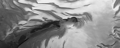 Part of the northern polar region of Mars