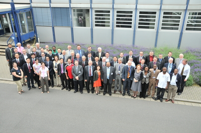 Space Frequency Coordination Group (SFCG) meeting in June 2012