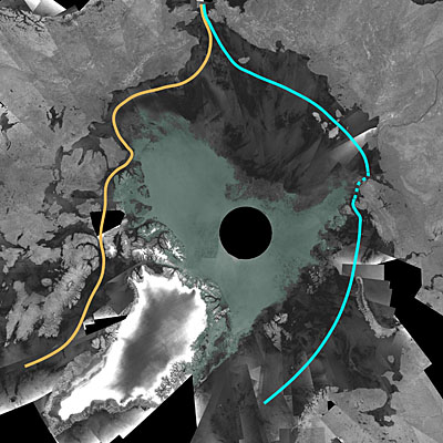 Se abre los hielos árticos a la navegación