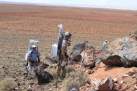 Desert RATS field trip by an astronaut and geologist