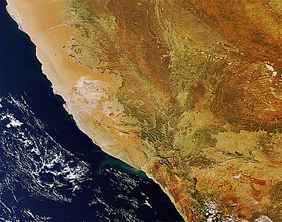 Namibia and South Africa