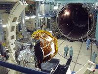 LISA Pathfinder a punto de entrar en el entorno de espacio de ensayo de vacío