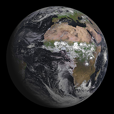 MSG-3 first image