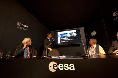 CryoSat at Paris Air and Space Show
