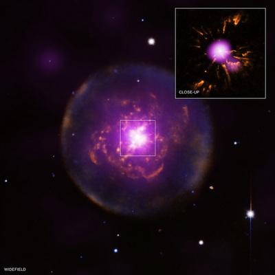 Abell 30: a born-again planetary nebula