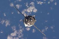 Progreso 35 enfoques ISS para el acoplamiento