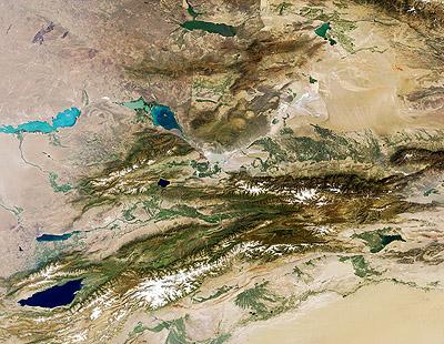 Montañas de Tian Shan