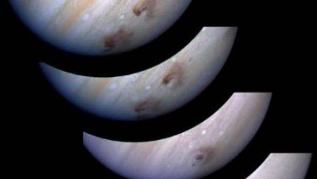 Jupiter evolución impacto T
