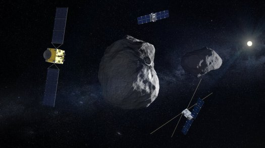 Hera networking with CubeSats