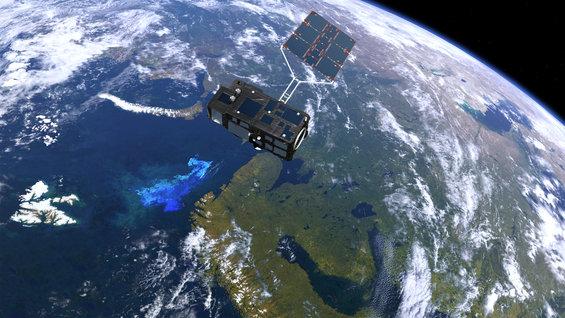 Third Sentinel in orbit