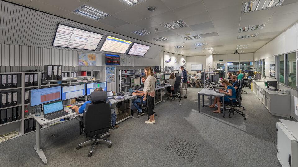 ESA's Sentinel Control Room