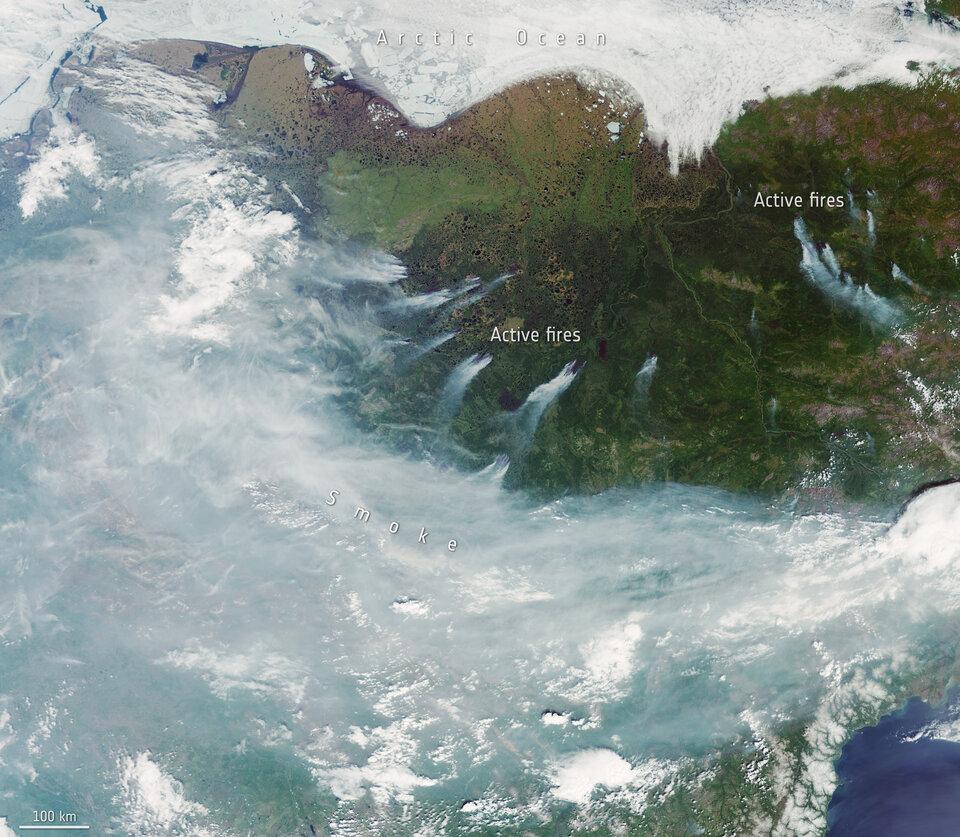 Incêndios na Sibéria
