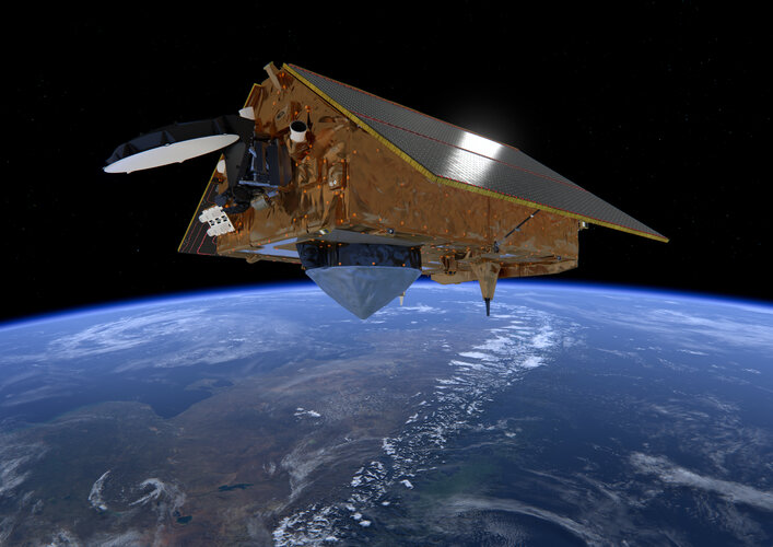 Copernicus Sentinel-6 over the Andes