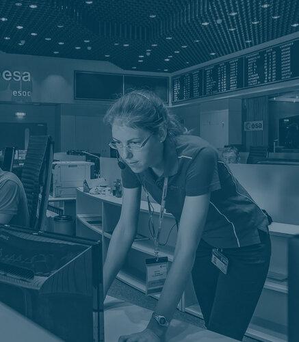Careers at ESA homepage link