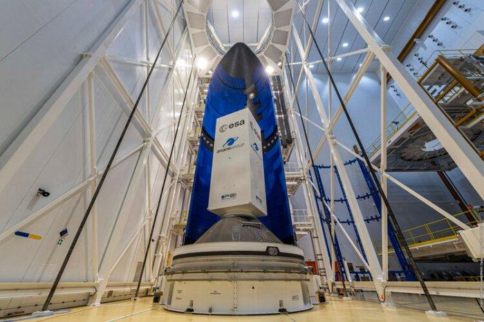 First Ariane 6 fairing at Europe's Spaceport