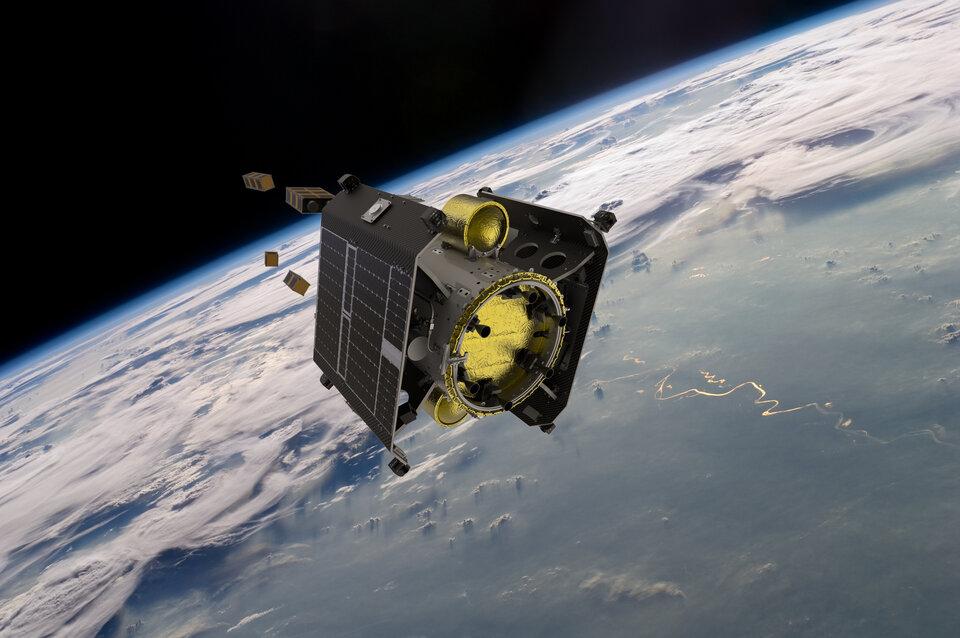 Serviços de lançamento e colocação em órbita para CubeSats e microssatélites