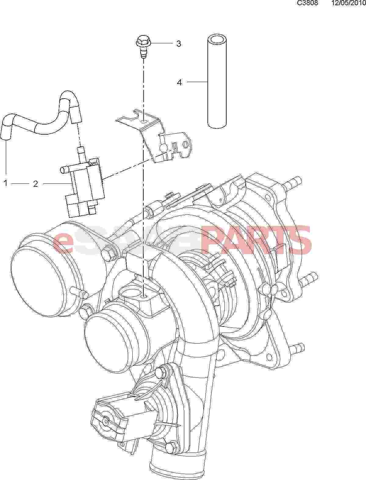 Saab Kit Boost Pressure Control Valve