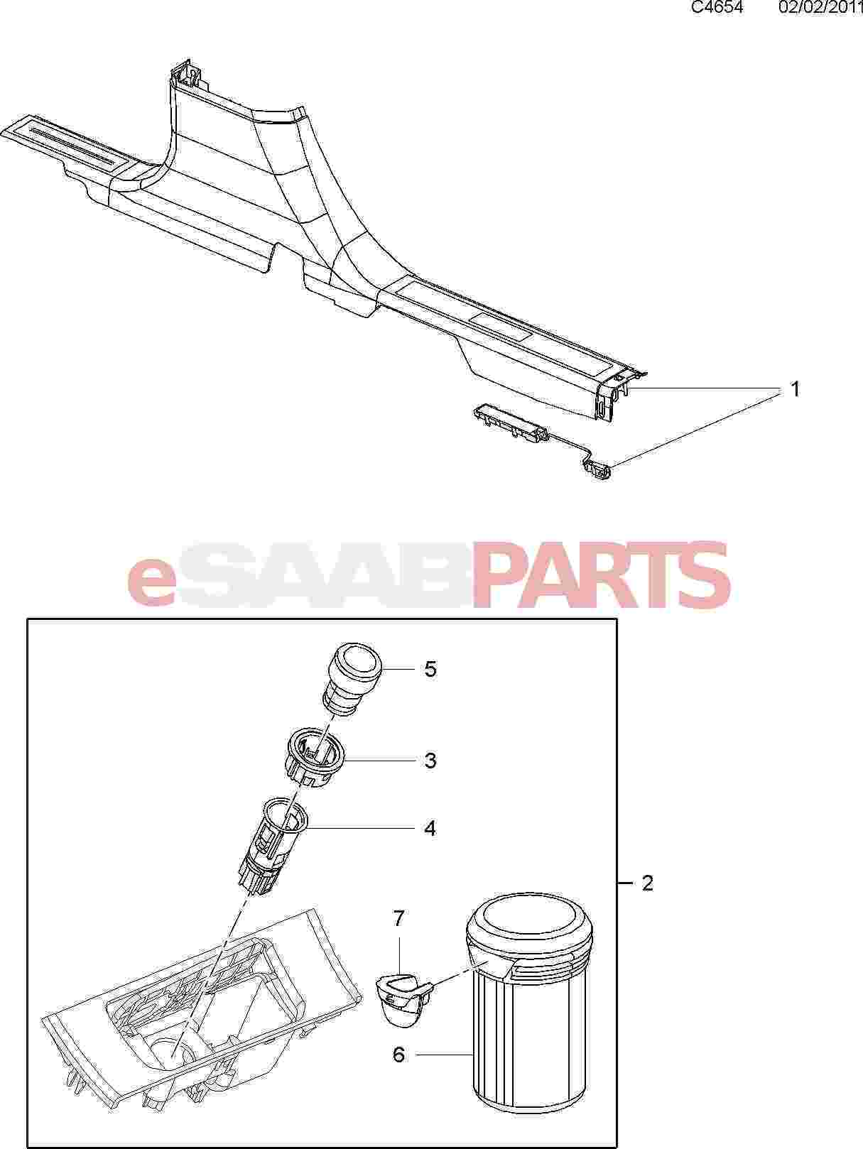 Saab Retainer