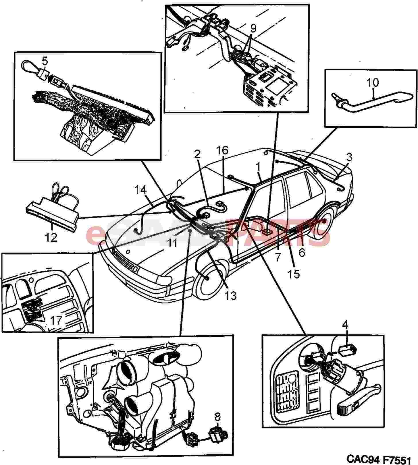 Wiring Diagram For Saab
