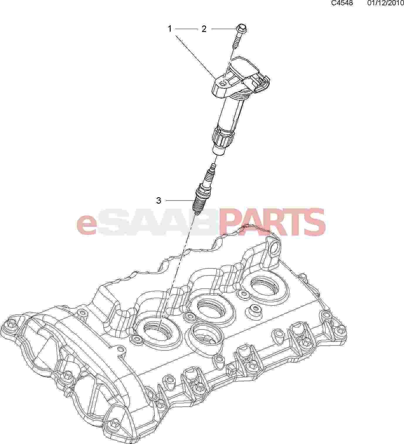 Saab Spark Plug