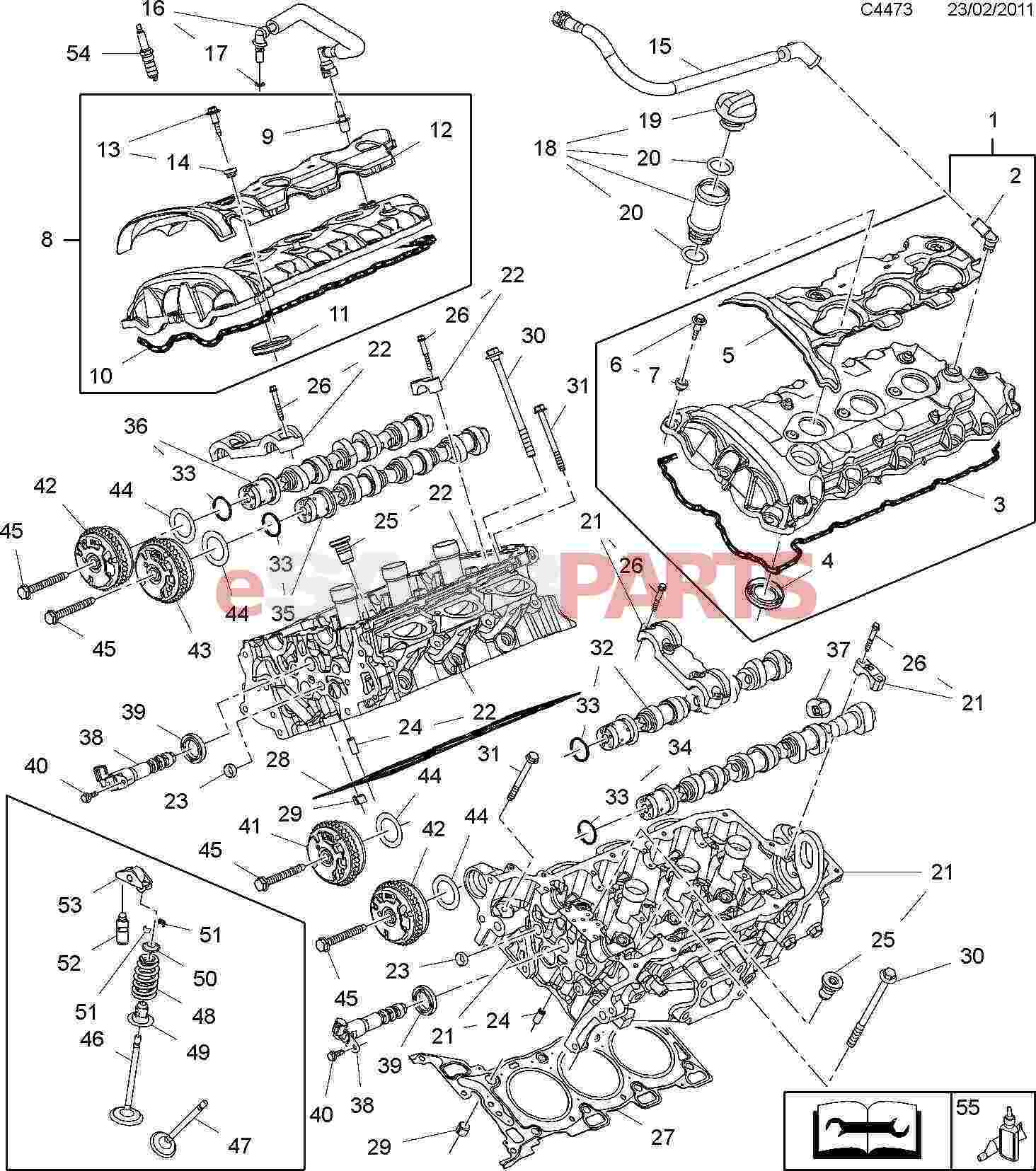 Saab Spark Plug 9 4x 3 0l V6 A30yh