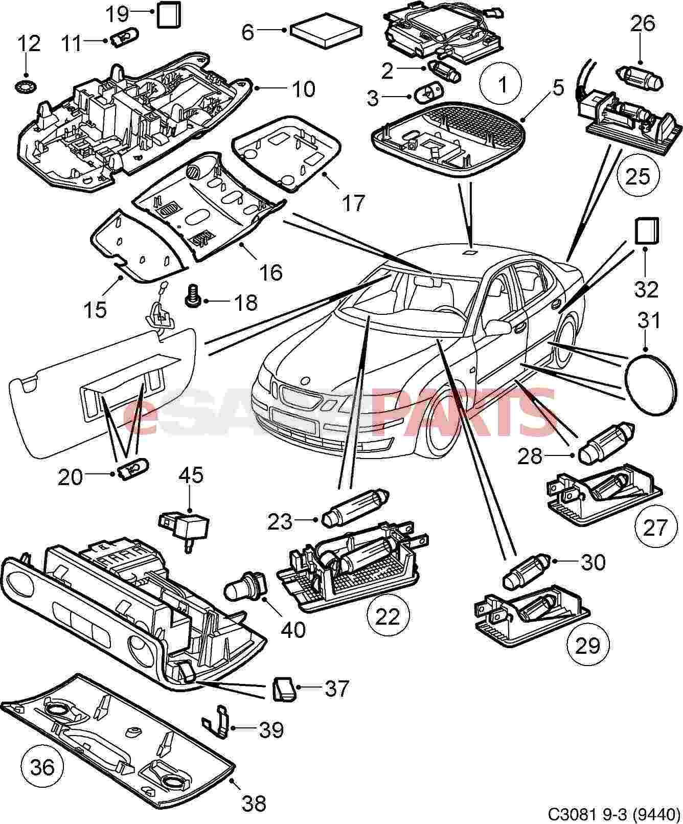 Interior Auto Body Parts Auto Parts Diagrams Car Part