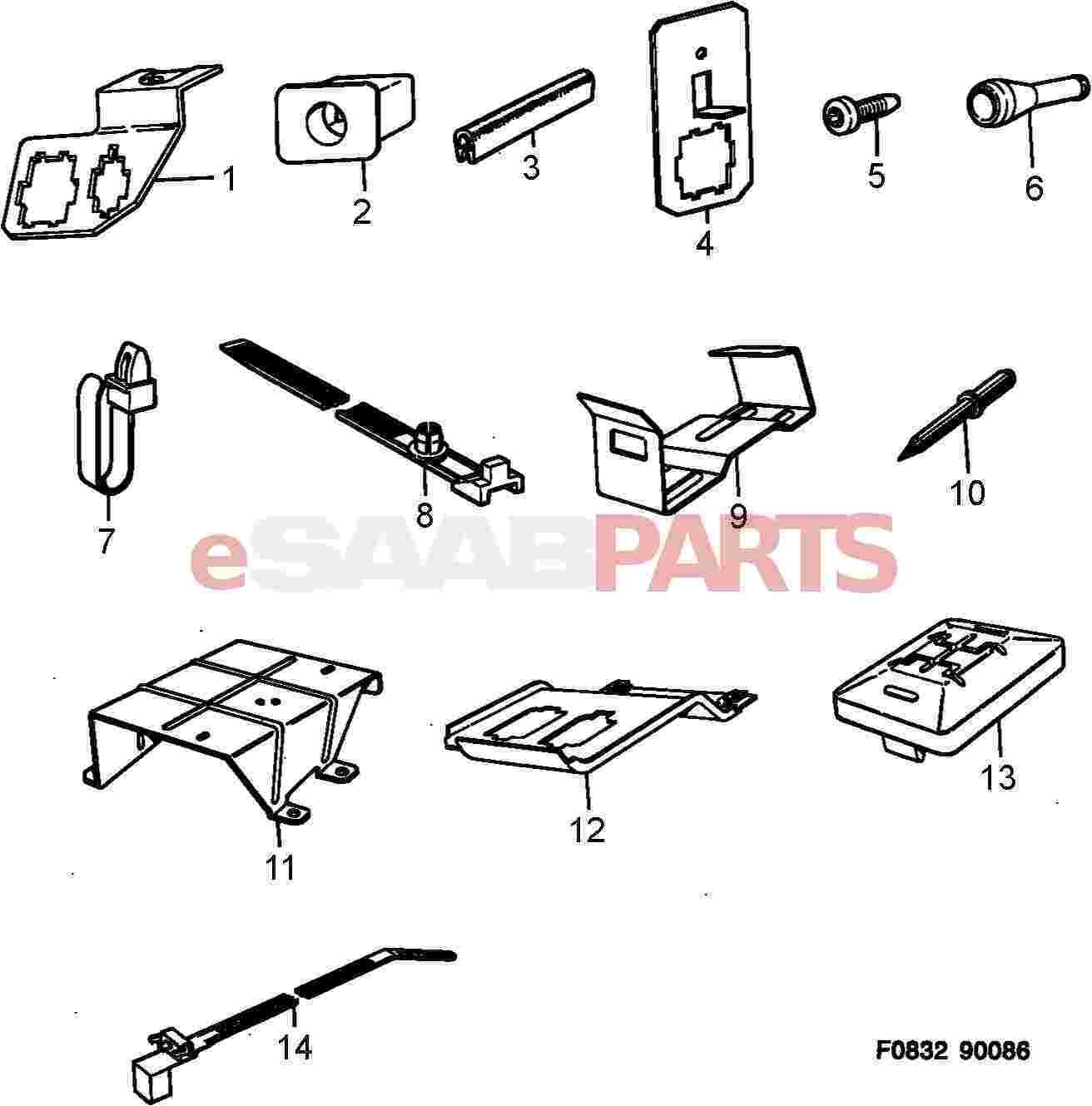 Saab Protecting Moulding