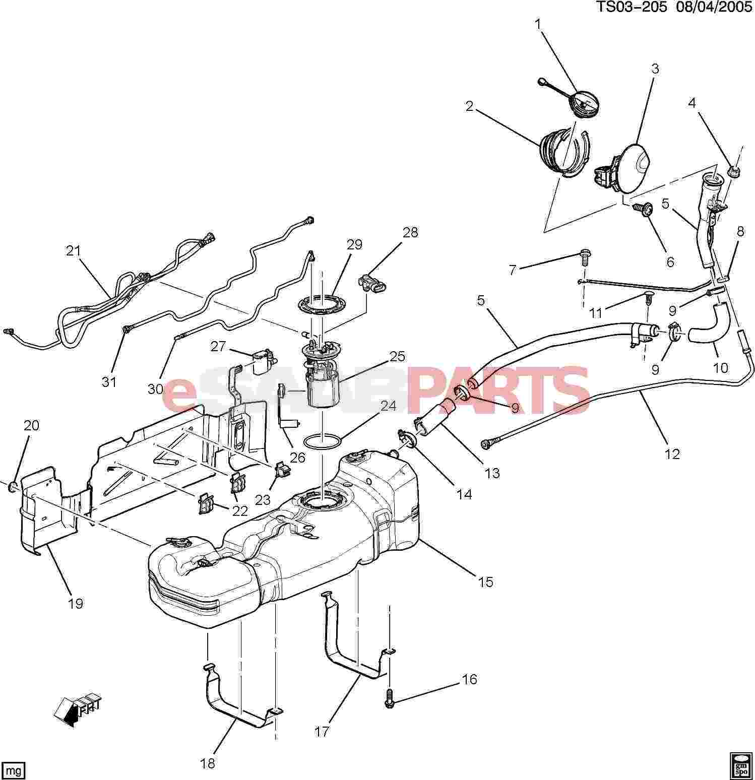 Gmc Envoy Parts Diagram