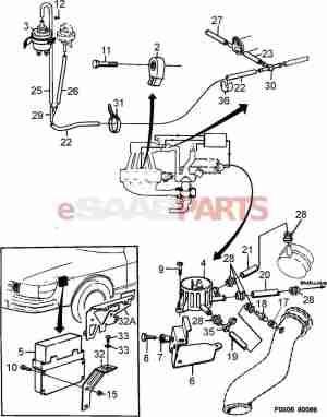 [7517477] SAAB APC Solenoid Valve  Genuine Saab Parts