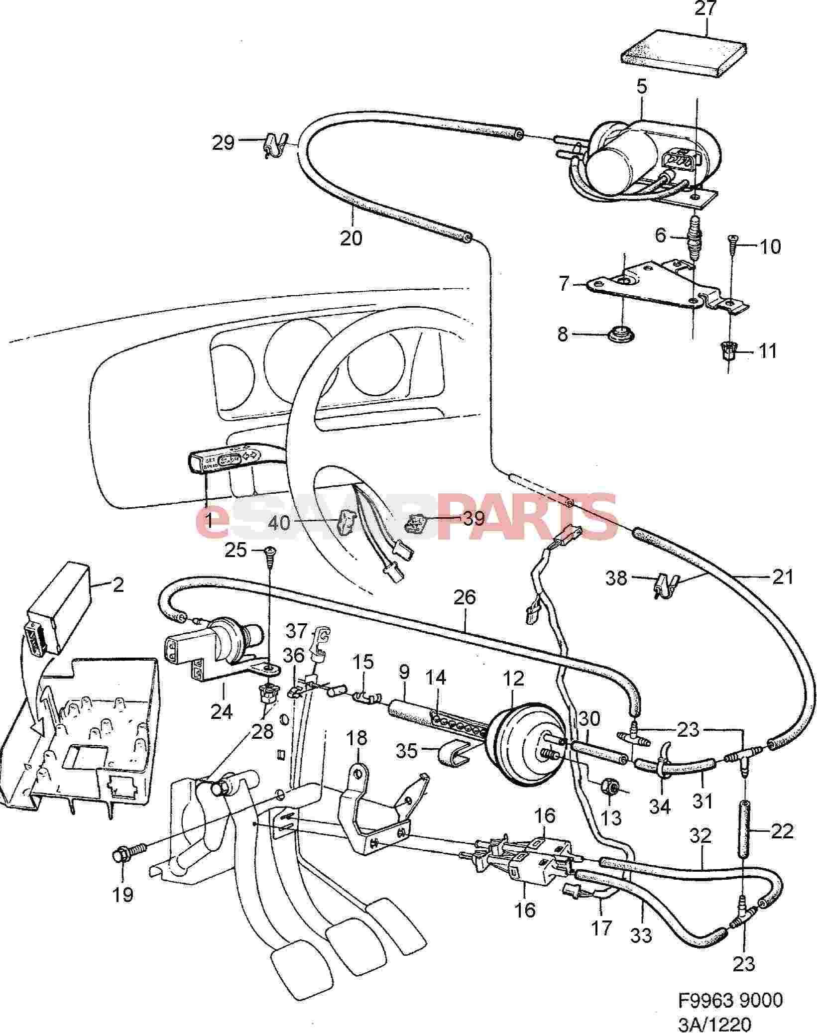Saab Vacuum Pump