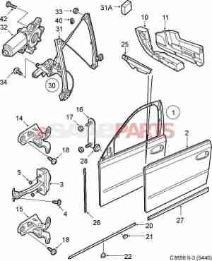 [12842436] SAAB Motor  Genuine Saab Parts from eSaabParts