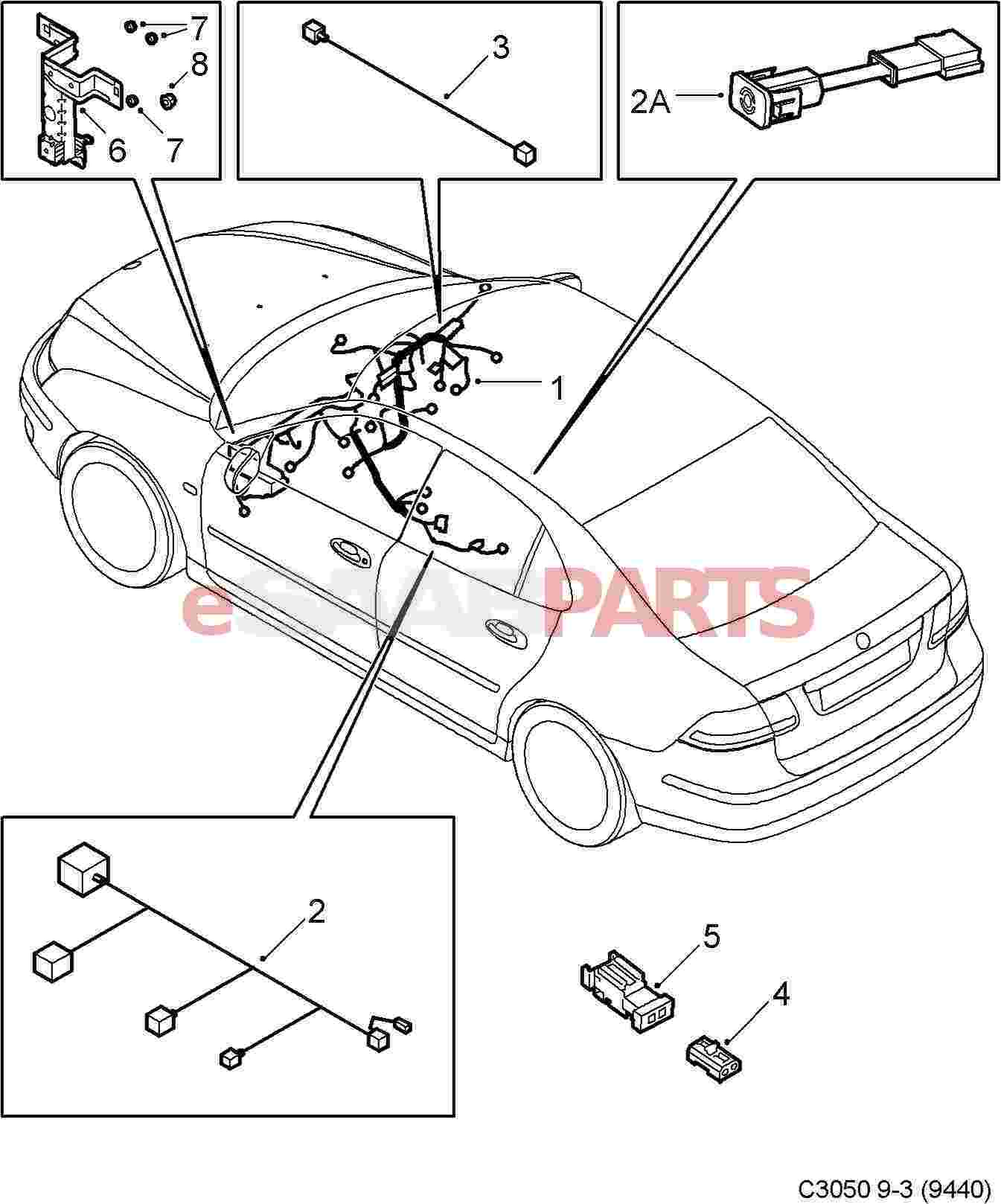 Wiring Diagram Saab 9 3 Speakers