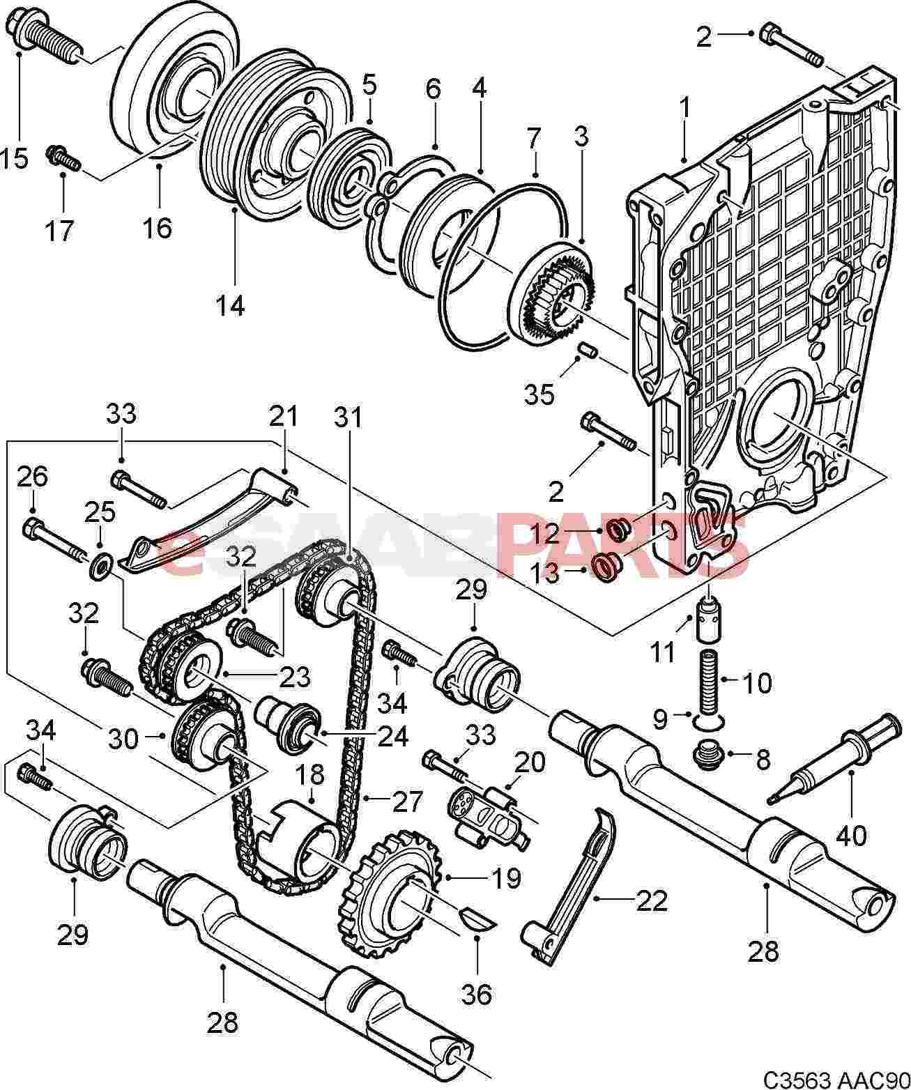 Saab 900 Se Engine Diagram