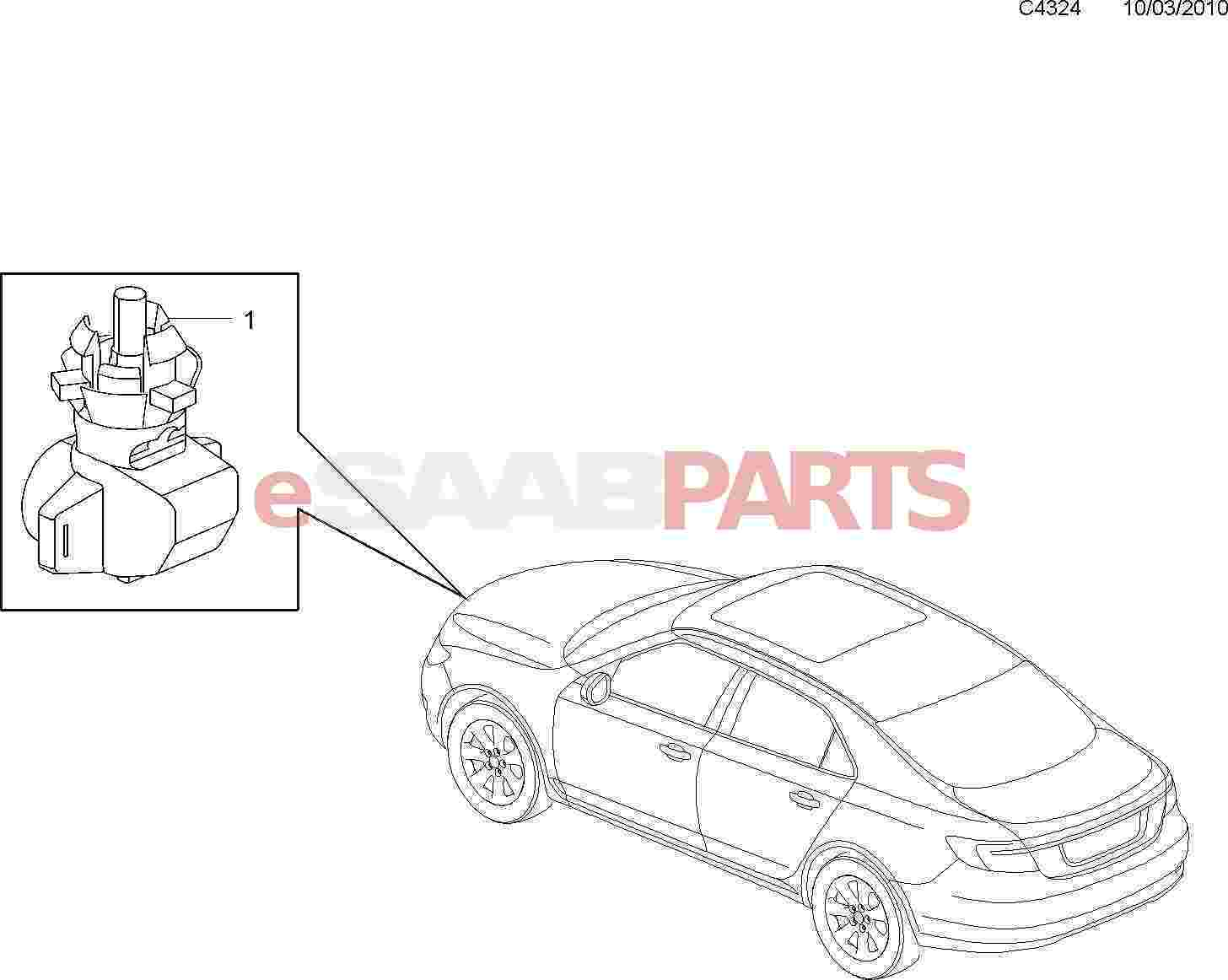 Saab Outside Temperature Sensor