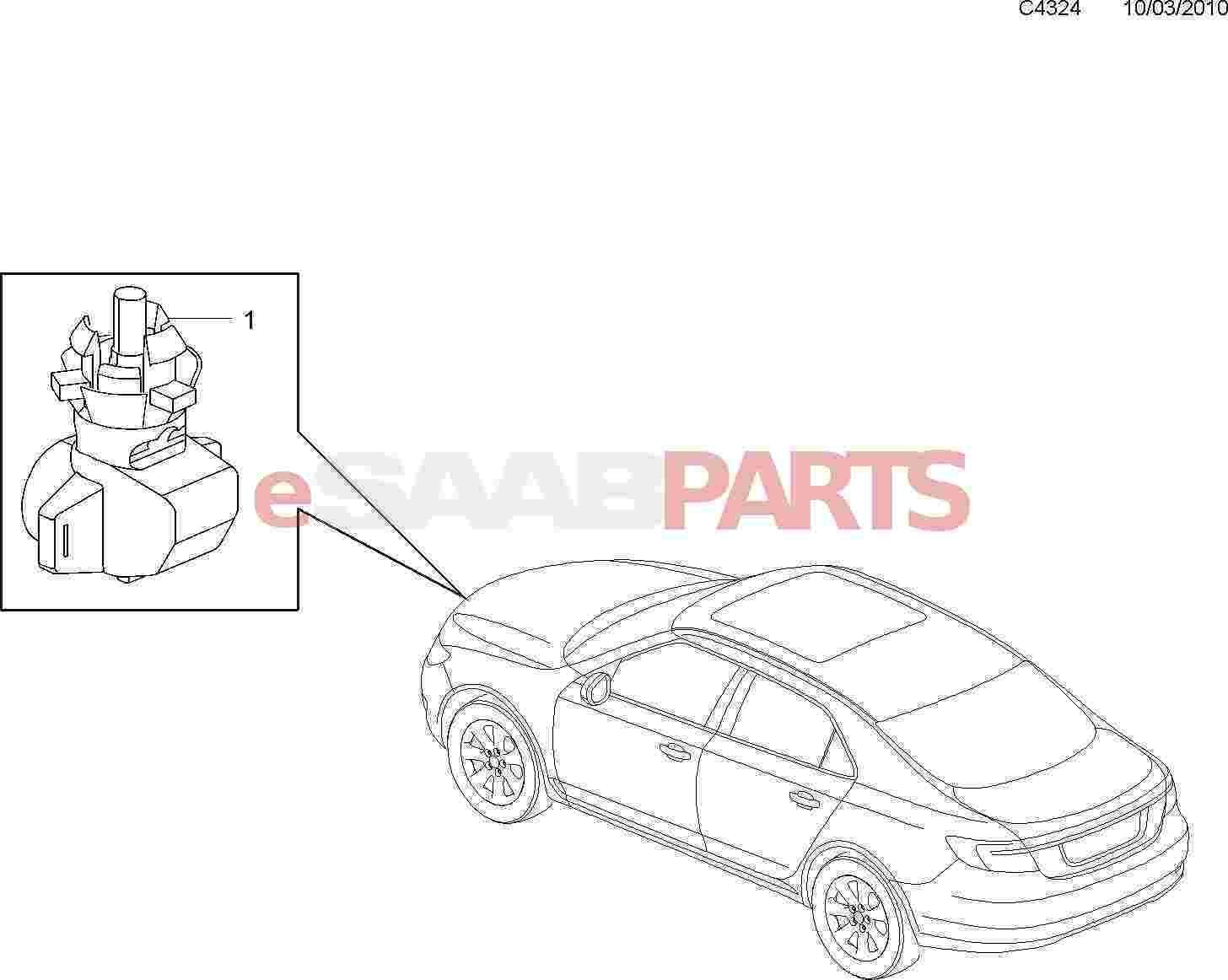 Saab Outside Temperature Sensor