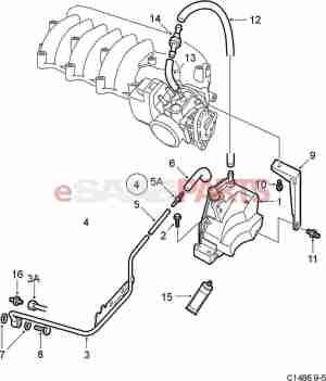 [90490560] SAAB Positive Crankcase Ventilation Valve