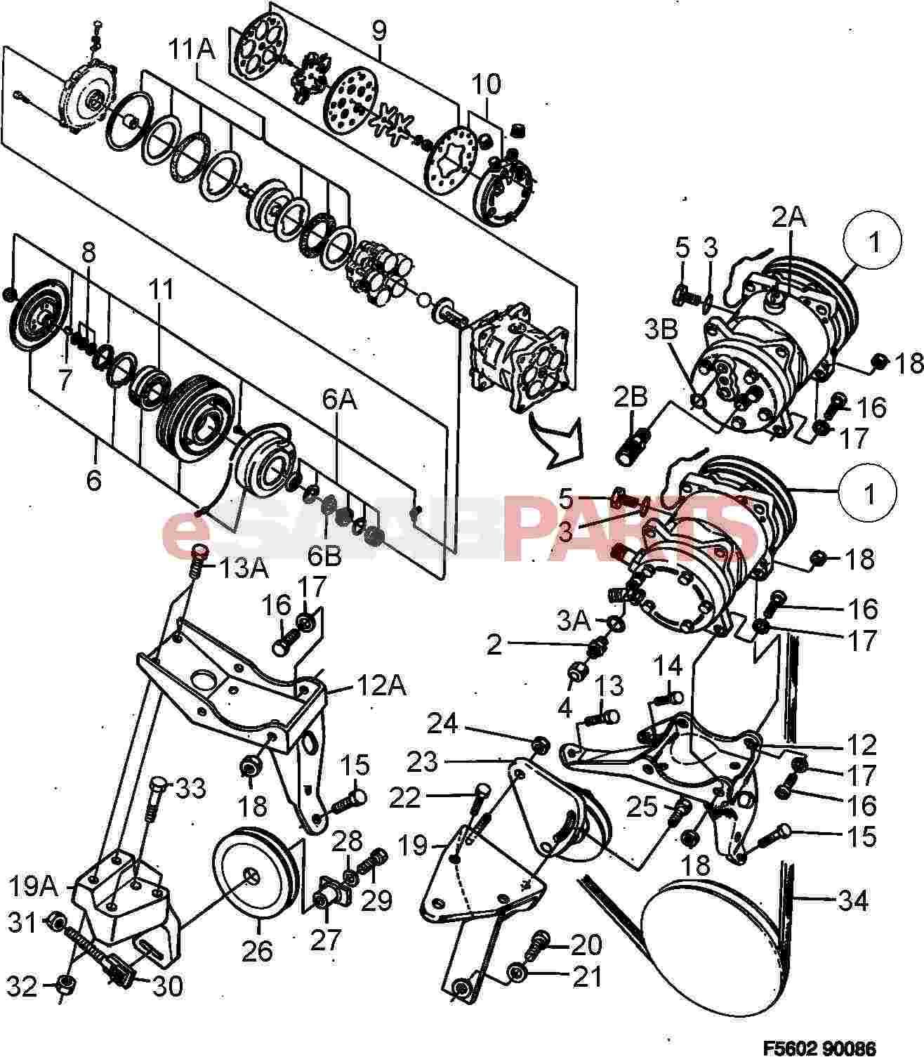 Saab Sealing Kit