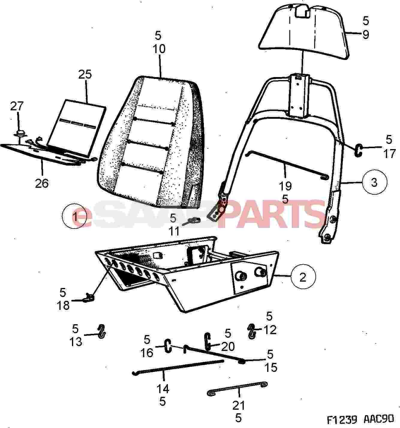 Saab Heating Pad