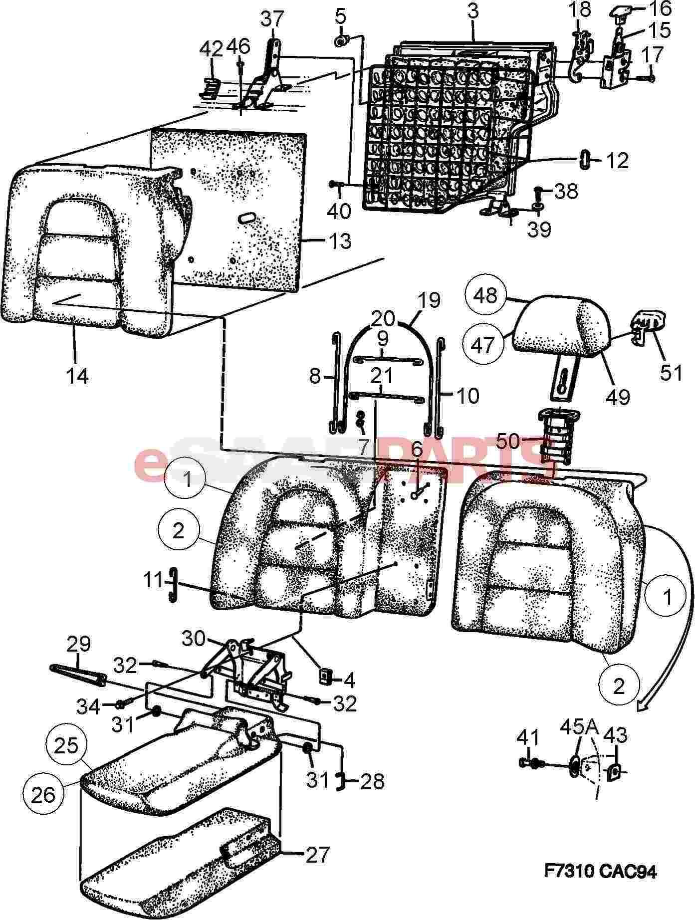 Cars Saab Engine Diagram