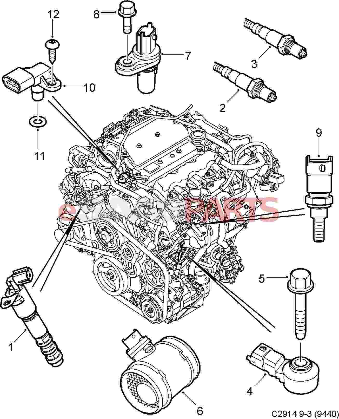 Free Download Saab 9 3 Linear Wiring Diagram